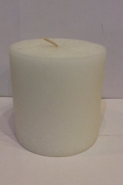 Root Candle Unscented White 4x4 - Product Mini Image