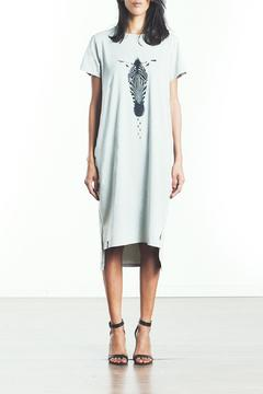 Shoptiques Product: Gray Zebra Dress