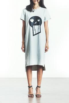 Shoptiques Product: Oversized Skull Dress