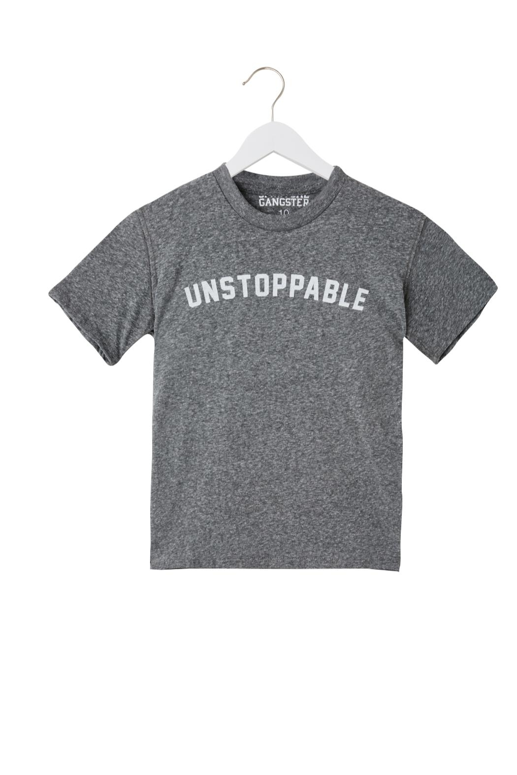 SPIRITUAL GANGSTER Unstoppable Tee - Front Cropped Image