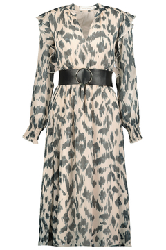 Bishop + Young Untamed Ikat Belted Dress - Alternate List Image