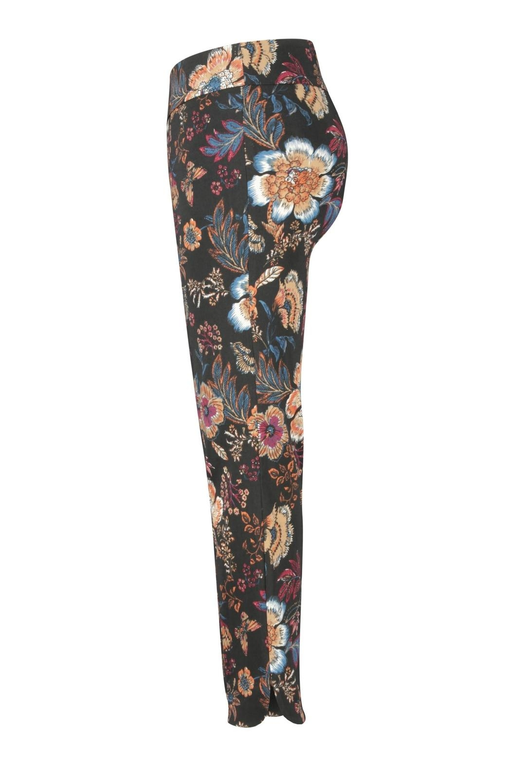 Up! Floral Fall Pant - Front Full Image