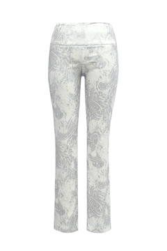 Up! Silver Paisley Pant - Product List Image