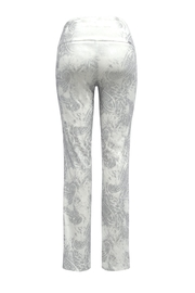 Up! Silver Paisley Pant - Front full body