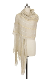 Saachi Up All Night Striped Scarf - Other