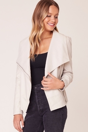 BB Dakota Up To Speed Vegan Leather Jacket - Side cropped