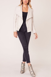 BB Dakota Up To Speed Vegan Leather Jacket - Front cropped