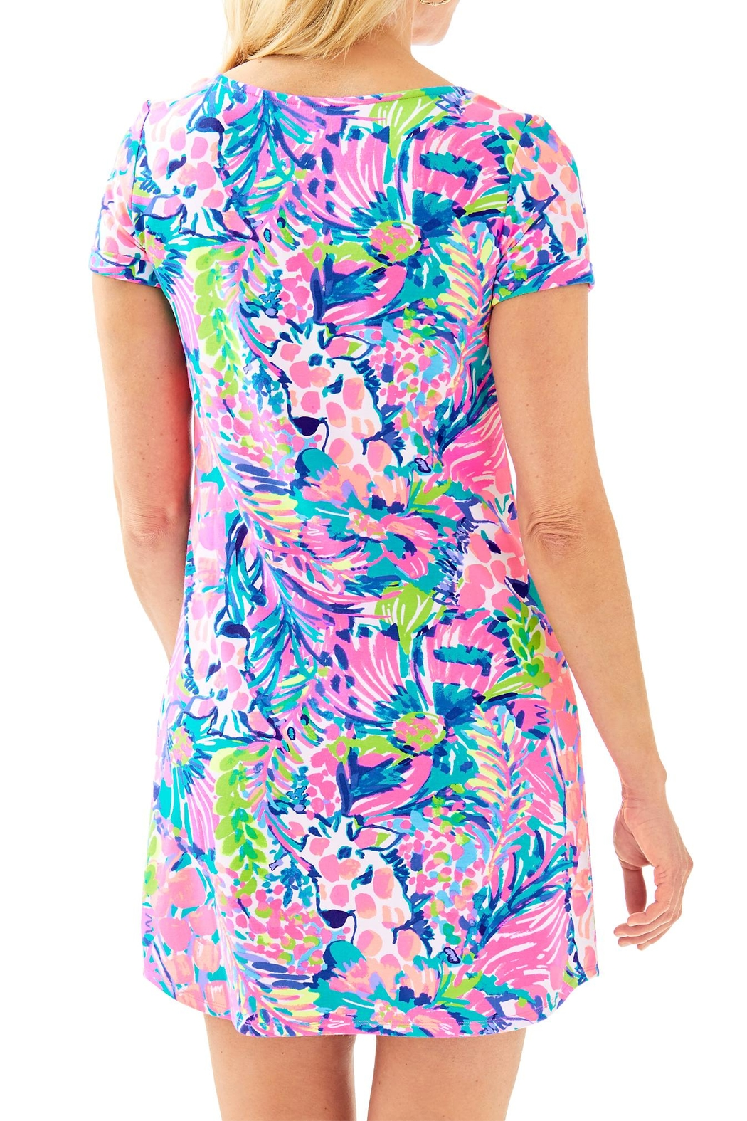 Lilly Pulitzer Upf50+ Tammy Dress - Front Full Image