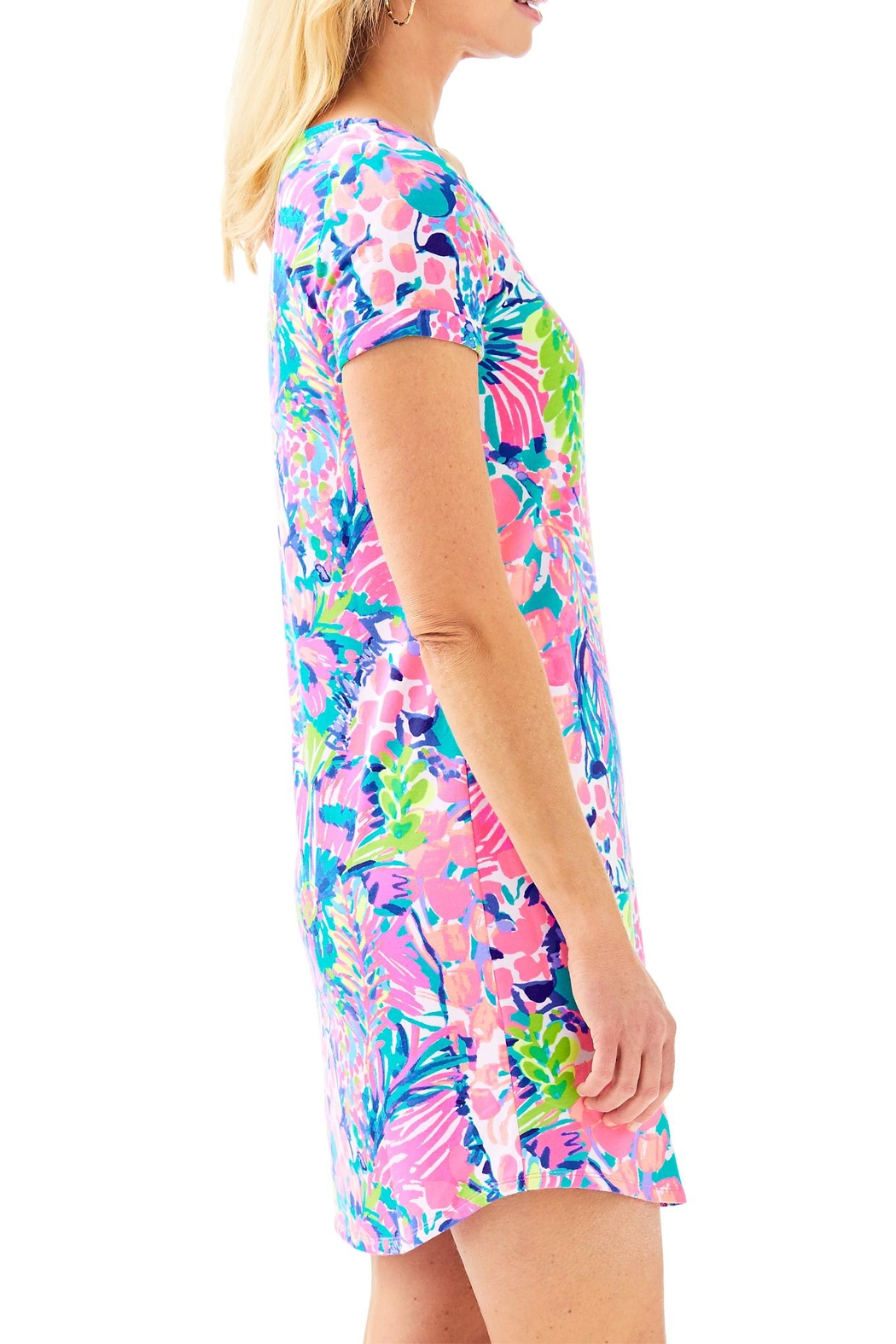 Lilly Pulitzer Upf50+ Tammy Dress - Side Cropped Image