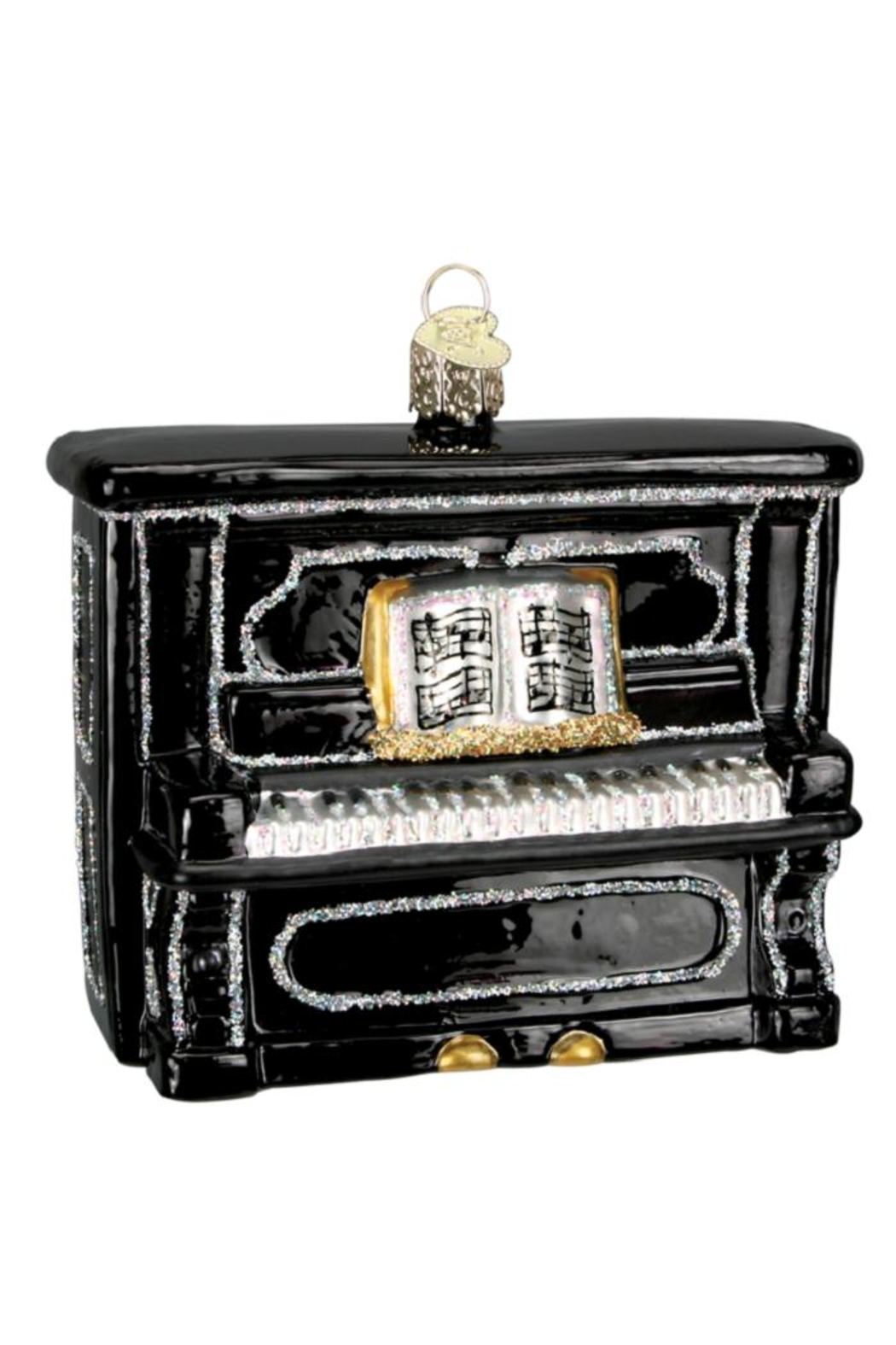 Old World Christmas Upright Piano Ornaments - Front Full Image