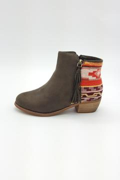 Uptown Athnic Green Booties - Product List Image