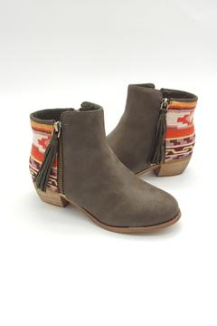 Uptown Athnic Green Booties - Alternate List Image
