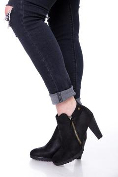 Uptown Black Jessy Booties - Product List Image