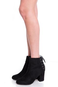 Uptown Black Snack Booties - Product List Image
