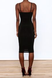 Uptown Sexy Sleeveless Bodycon Dress - Back cropped