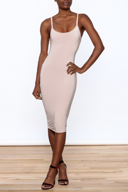 Uptown Sexy Sleeveless Bodycon Dress - Front full body