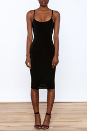 Uptown Sexy Sleeveless Bodycon Dress - Front cropped