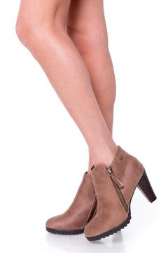 Uptown Brown Jessy Booties - Product List Image