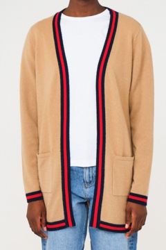 Brodie Uptown Cardi Cashmere - Product List Image