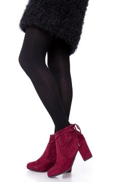 Uptown Classic Bordeaux Booties - Product List Image