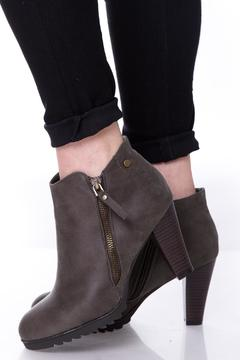 Uptown Grey Jessy Booties - Product List Image