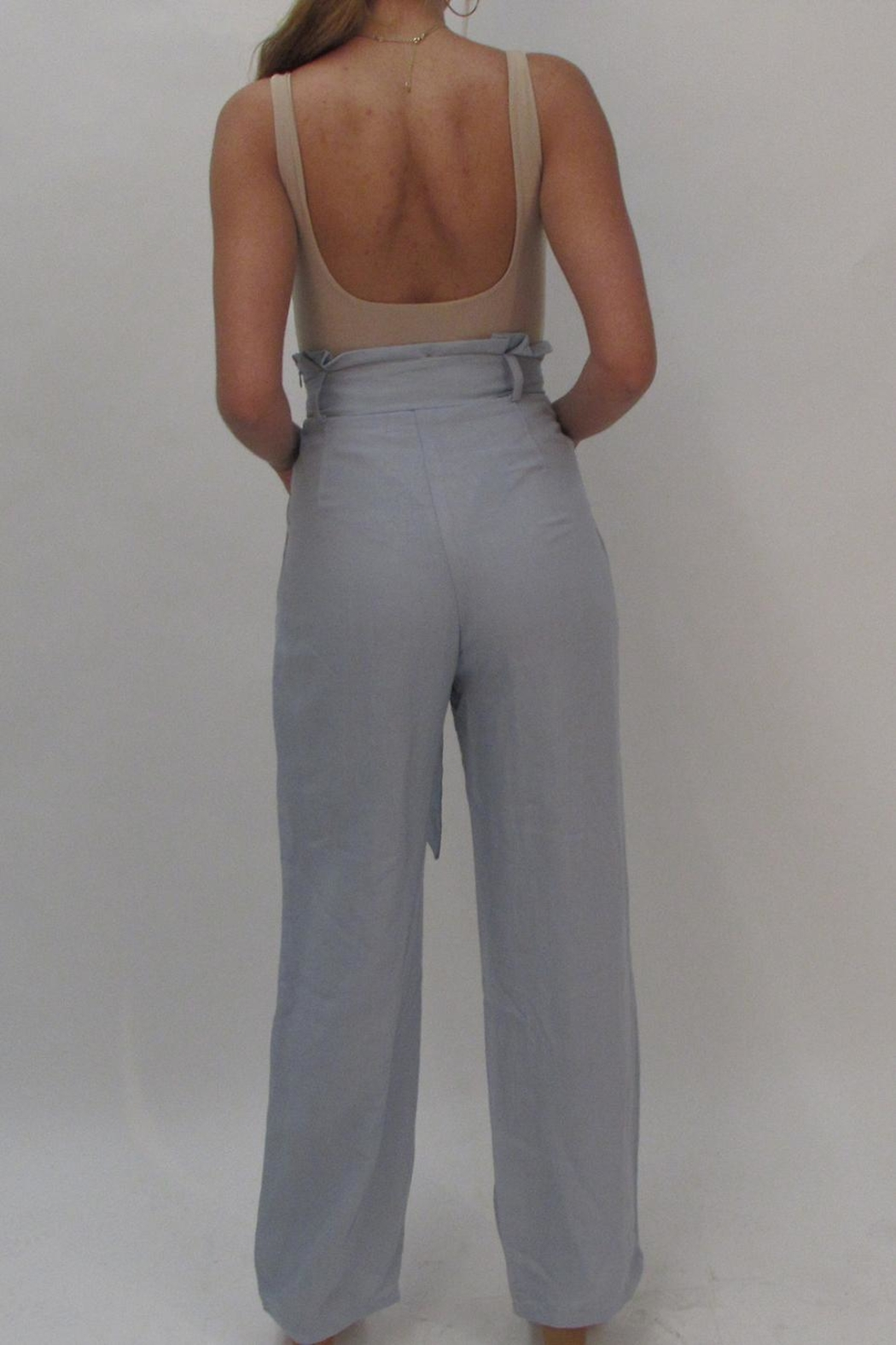 Uptown Low Back Bodysuit - Front Full Image
