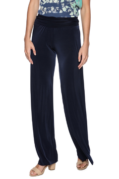 Uptown Navy Palazzo Pants - Product List Image