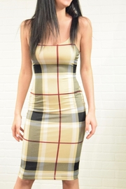 Uptown Plaid Check Dress - Product Mini Image