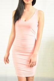 Uptown Rouched Bodycon Dress - Product Mini Image