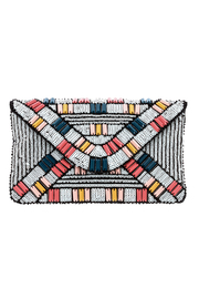 Urban Expressions Beaded Clutch - Product Mini Image