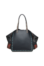 Urban Expressions Holly Beaded Tote - Product Mini Image