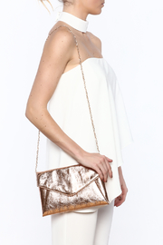 Urban Expressions Bellini Clutch - Front full body