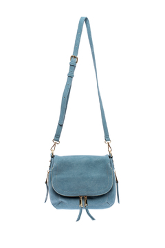 Shoptiques Product: Blue Crossbody Bag