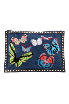 Shoptiques Product: Denim Patch Clutch