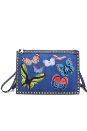 Urban Expressions Libby Denim Clutch - Product Mini Image
