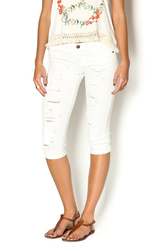 Shoptiques Product: Distressed Knee Length Short