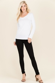 Urban Chic Waist V-Shape Leggings - Product Mini Image