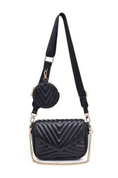 Shoptiques Product: 2in1 Crossbody Bag