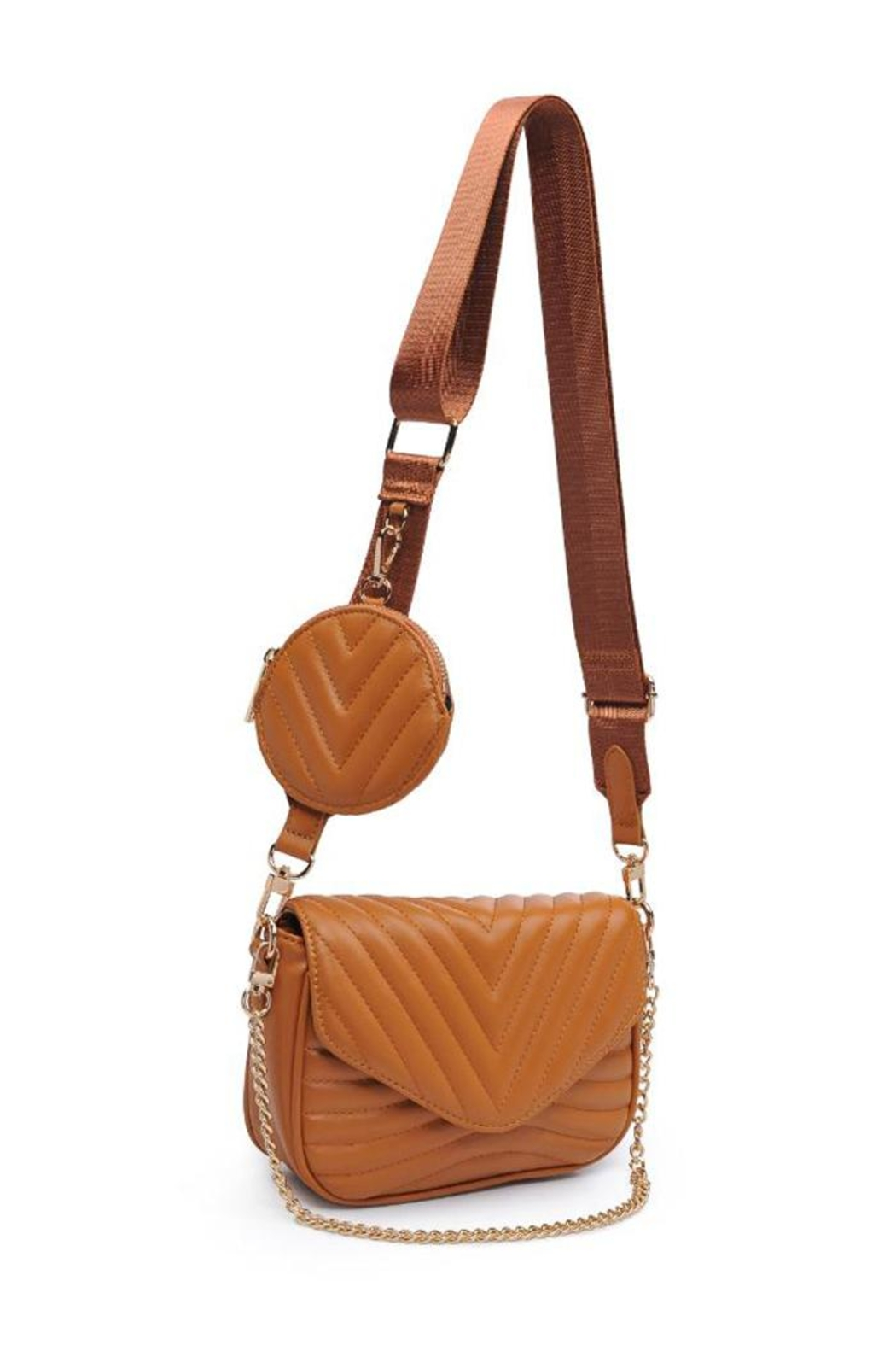 Urban Expressions 2in1 Crossbody Bag - Front Full Image