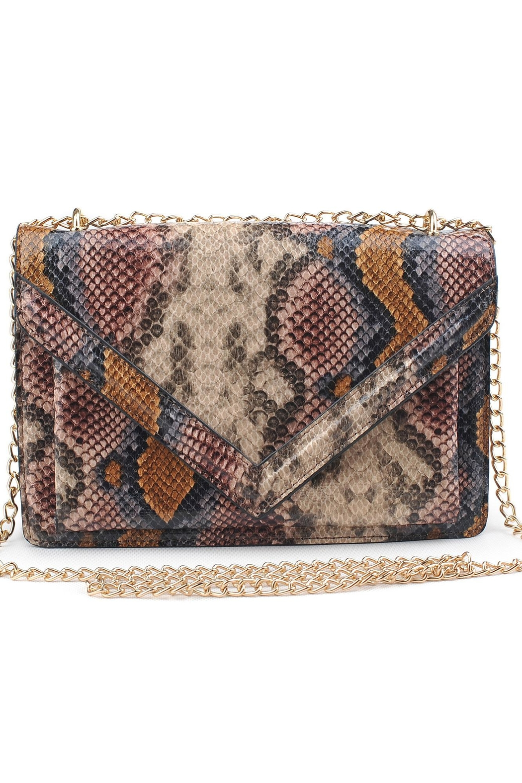 Urban Expressions Adalynn Python Bag - Front Cropped Image