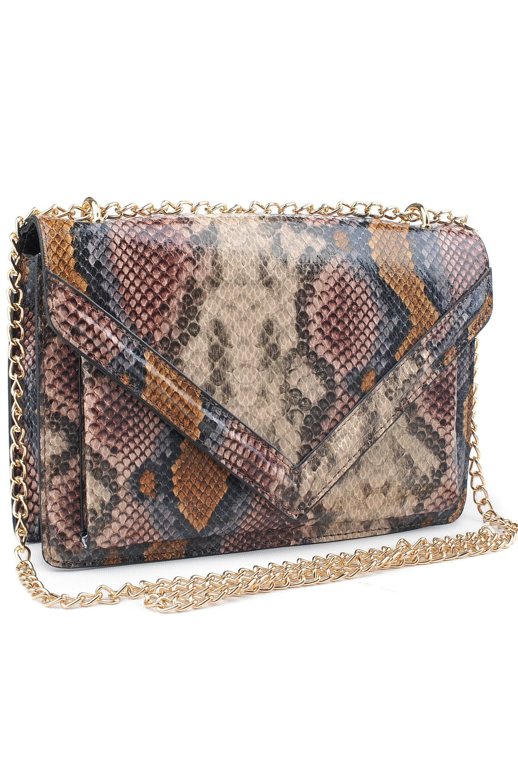 Urban Expressions Adalynn Python Bag - Front Full Image