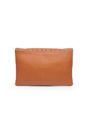 Urban Expressions Addison Woven Clutch - Side cropped