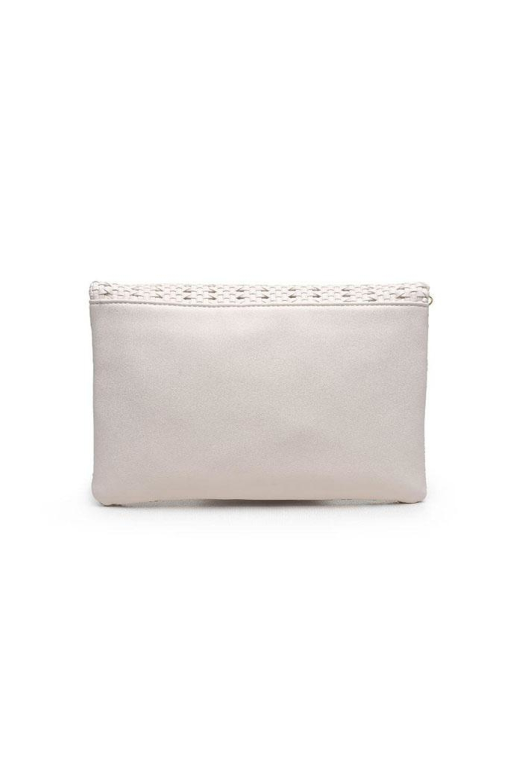 Urban Expressions Addison Woven Clutch - Side Cropped Image