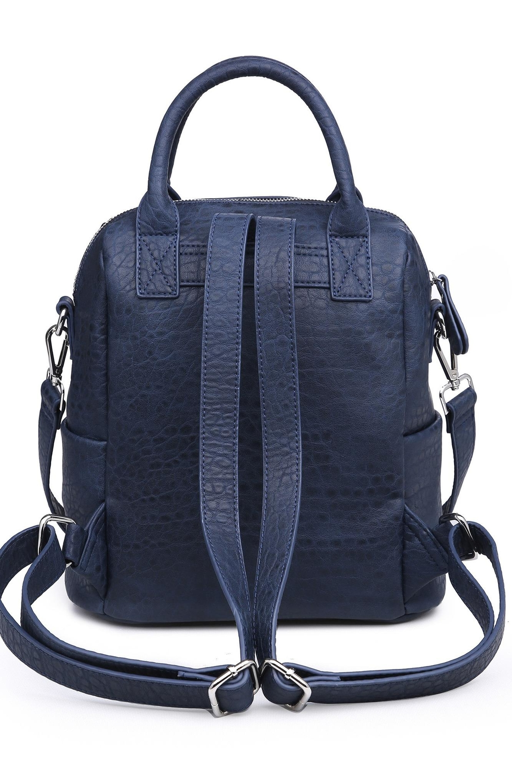 Urban Expressions Andre Textured Backpack - Front Full Image