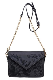 Urban Expressions Arabella Embroidered Crossbody - Front full body