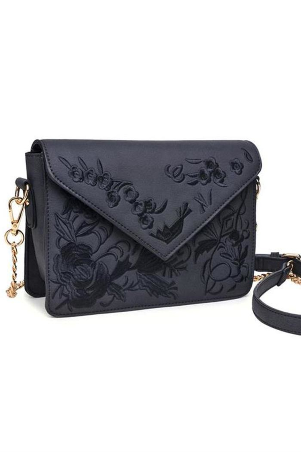 Urban Expressions Arabella Embroidered Crossbody - Main Image