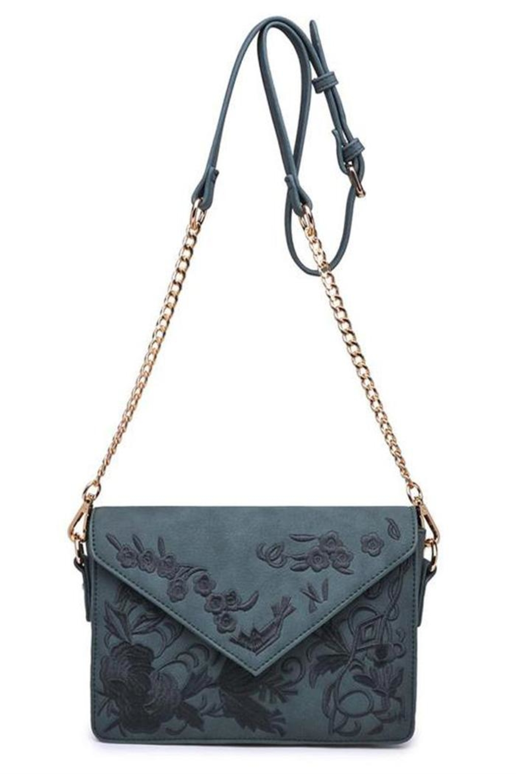 Urban Expressions Arabella Embroidered Crossbody - Front Full Image