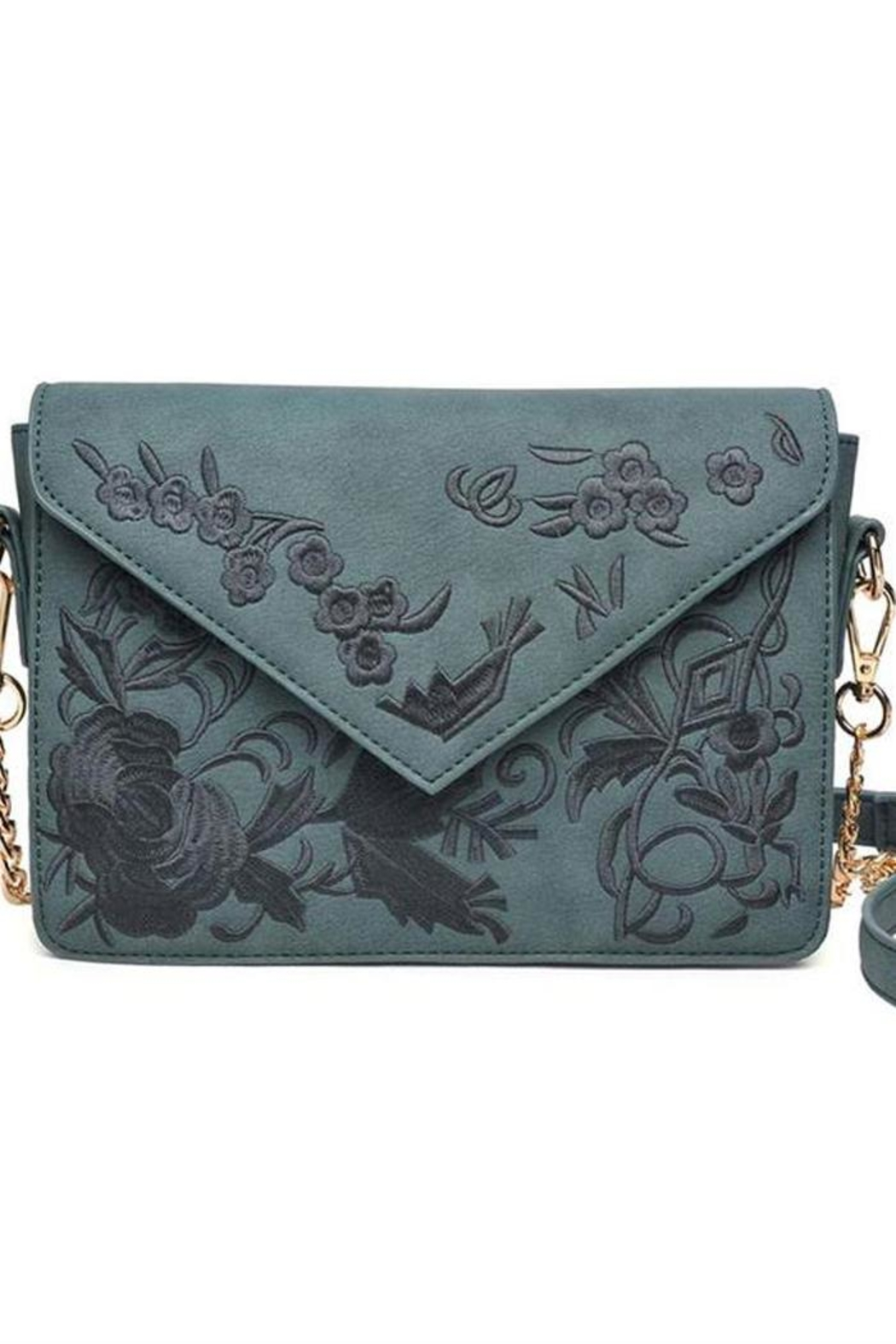 Urban Expressions Arabella Embroidered Crossbody - Front Cropped Image