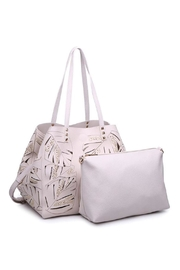 Urban Expressions Aruba Perforated Bag - Front full body