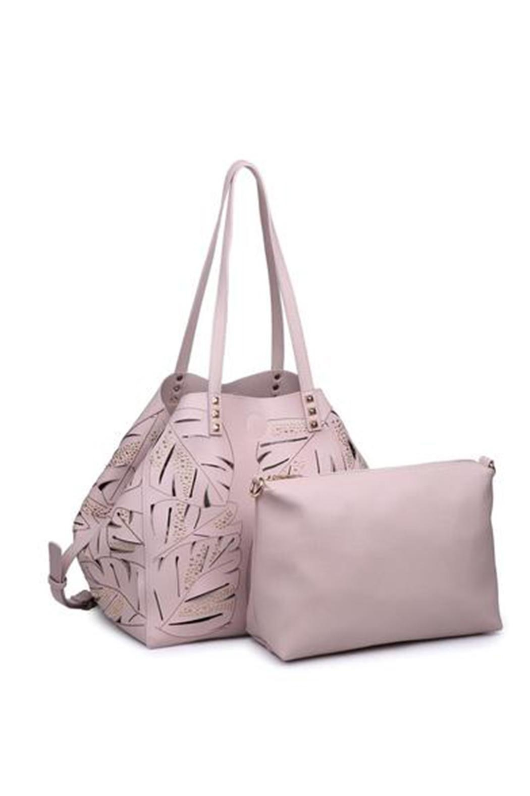Urban Expressions Aruba Perforated Bag - Front Cropped Image